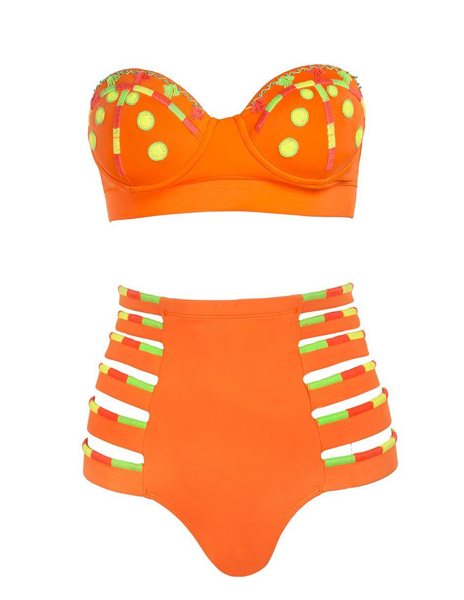 b4130477f303 Bikini calzón Mildred Rubin alto negro